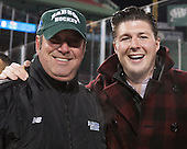 ?, Corey Griffin - The Norwich University Cadets defeated the Babson College Beavers 1-0 on Thursday, January 9, 2014, at Fenway Park in Boston, Massachusetts.