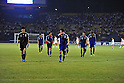 Japan team group (JPN), SEPTEMBER 6, 2011 - Football / Soccer : Makoto Hasebe of Japan looks dejected during the FIFA World Cup Brazil 2014 Asian Qualifier Third Round Group C match between Uzbekistan 1-1 Japan at Pakhtakor Markaziy Stadium in Tashkent, Uzbekistan. (Photo by Jinten Sawada/AFLO)