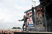 JUN 13 Rob Zombie performing at Download Festival