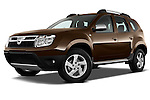 Dacia Duster SUV 2010 Stock Photos