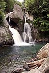 Bash Bish Falls in Mt. Washington, MA