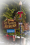 Christmas Time in Old Town Auburn.