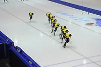 SCHAATSEN: HEERENVEEN: 24-10-2014, IJsstadion Thialf, Topsporttraining Team LottoNL - Jumbo, ©foto Martin de Jong