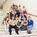 Baden Baden, Germany. 15.06.2013. Cedar Lake Ballet, company class, Festspielhaus. Photograph © Jane Hobson, 2013.
