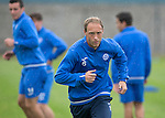 St Johnstone Training&hellip;22.07.16<br />Steven Anderson pictured during training this morning at McDiarmid Park ahead of tomorrows Betfred Cup game against Falkirk.<br />Picture by Graeme Hart.<br />Copyright Perthshire Picture Agency<br />Tel: 01738 623350  Mobile: 07990 594431