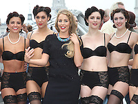 SEP 11 Lydia Rose Bright leads a 'dress tease' fashion show