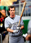21 August 2009: Milwaukee Brewers' infielder Craig Counsell prepares for his at bat against the Washington Nationals, at Nationals Park in Washington, DC. The Brewers defeated the Nationals 7-3 in the first game of their four-game series. Mandatory Credit: Ed Wolfstein Photo