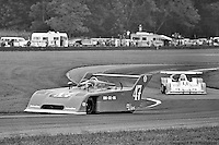 Bobby Rahal drives a Ralt RT-1 during the 1979 Lumbermen's 6 Hours race at Mid-Ohio Sports Car Course. Rahal won the event, along with co-drivers Brian Redman and Tony Cicale.
