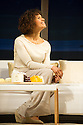 London, UK. 14.04.2014. GOOD PEOPLE by David Lindsay-Abaire opens at the Noel Coward Theatre, after a successful run at the Hampstead Theatre. Directed by Jonathan Kent, with lighting design by Mark Henderson and set and costume design by Hildegard Bechtler. Picture shows: Angel Coulby (Kate). Photograph © Jane Hobson.