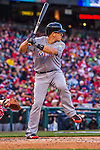 7 April 2016: Miami Marlins catcher J.T. Realmuto at bat during the Washington Nationals Home Opening Game at Nationals Park in Washington, DC. The Marlins defeated the Nationals 6-4 in their first meeting of the 2016 MLB season. Mandatory Credit: Ed Wolfstein Photo *** RAW (NEF) Image File Available ***