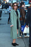 FEB 23 Aubrey Plaza At The Late Show With Stephen Colbert