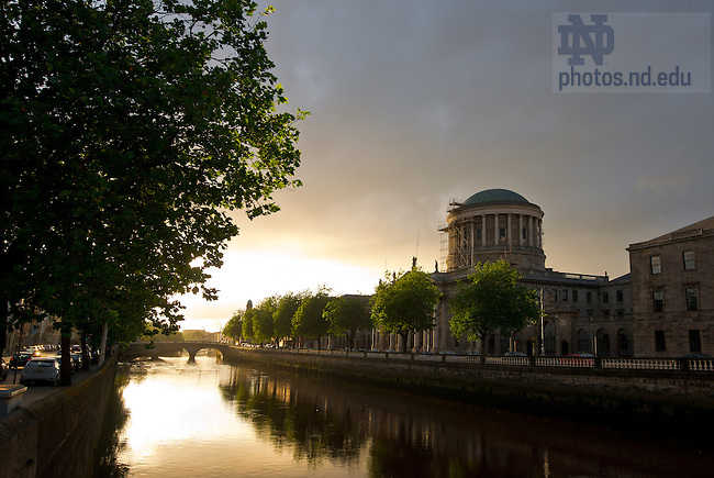 Aug. 30, 2012; Four Courts building, Dublin, Ireland...Photo by Matt Cashore/University of Notre Dame