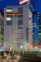Museum of Arts and Design (MAD), designed byBrad Cloepfil, 2 Columbus circle, Manhattan, New York City, New York, USA