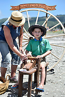 Alexander Symons  Petone Settlers 175th Anniversary on the Petone Foreshore, Lower Hutt, New Zealand on Sunday 19 January 2015. <br /> Photo by Masanori Udagawa.<br /> www.photowellington.photoshelter.com.