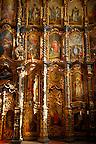 Interior and icons of St Nicholas Greek Orthodox Church, Eger, Hungary