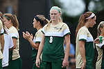 30 August 2015: William & Mary's Rachel Moore. The Duke University Blue Devils hosted the William & Mary University Tribe at Koskinen Stadium in Durham, NC in a 2015 NCAA Division I Women's Soccer game. Duke won the game 2-0.