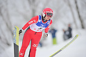 Seiko Koasa (JPN),.MARCH 3, 2012 - Ski Jumping : FIS Ski Jumping World Cup Ladies in Zao, Individual the 11th Competition HS100 at Jumping Hills Zao,Yamagata ,Japan. (Photo by Jun Tsukida/AFLO SPORT) [0003]