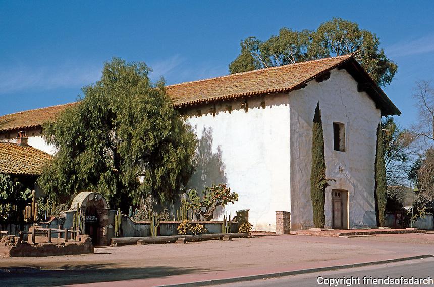 California Missions: Mission San Miguel Arcangel, 1816-1818. Photo '83.