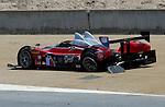 Monterey California, May 4, 2014, Laguna Seca Monterey Grand Prix, Prototype with broken rear axle