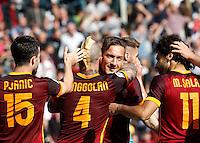 20160425 ROMA-CALCIO: LA ROMA BATTE IL NAPOLI 1 A 0