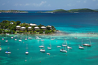 Cruz Bay with Gallows Point Resort<br />