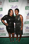 135th Street Agency's Shante Bacon  and Saptosa Foster Attend 135th Street Agency Holiday Party Featuring the Beautiful Textures 2014 Upfront! And Special Performance by Atlantic Records' Sevyn Streeter Hosted by Angela Yee, Angela Simmons and Sway Calloway Held at Arena, NY