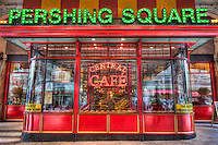 Pershing Square Central Cafe, located on 42nd street under the Park Avenue Viaduct directly across from historic Grand Central Terminal in New York City, New York, USA