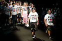 October 22nd, 2011: Tokyo, Japan &ndash; Designers and models walk down the catwalk wearing mastermind JAPAN during Mercedes-Benz Fashion Week Tokyo 2012 Spring/Summer. The Mercedes-Benz Fashion Week Tokyo runs from October 16-22. (Photo by Yumeto Yamazaki/AFLO)