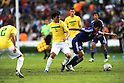 (R-L) Takumi Minamino (JPN), Misael (BRA),JULY 3, 2011 - Football :2011 FIFA U-17 World Cup Mexico Quarterfinal match between Japan 2-3 Brazil at Estadio Corregidora in Queretaro, Mexico. (Photo by AFLO)