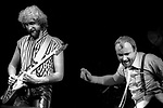 Mike Rutherford, Phil Collins, Feb. 2, 1984, Oakland Coliseum Arena