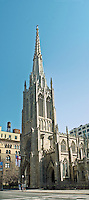 New York City, NY, Grace Church, designed by James Renwick, Broadway and 10th St, Gothic