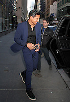 Mario Lopez at the 'Today' Show in NYC