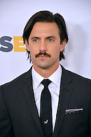 BEVERLY HILLS, CA. October 21, 2016: Actor Milo Ventimiglia at the 2016 GLSEN Respect Awards, honoring leaders iin the fight against bullying &amp; discrimination in schools, at the Beverly Wilshire Hotel.<br /> Picture: Paul Smith/Featureflash/SilverHub 0208 004 5359/ 07711 972644 Editors@silverhubmedia.com