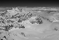 The Dom of Mischabel, seen from the summit of Strahlhorn