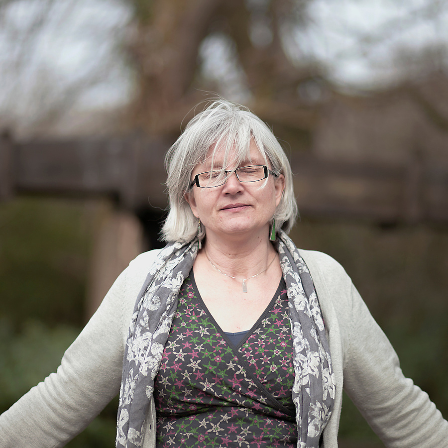 Jo Moore, curator of Wheal Martyn Museum photographed in front the largest working water wheel in Cornwal.I moved to Cornwall about 6 years ago, from Somerset, I moved here for a job, I worked with the National Trust for a long time, and then left there and was doing some freelance curatorial work part of which involved doing a collections audit for the Wheal Martin Museum. While I was doing that I saw the job advertised as a part-time curator here, I didn't get the job first time around but the lady who got the job left after 2 months and it was offered to me. That was January last year, 2012..I found Wheal Martin to be quite a hidden treasure really with masses of potential..There hadn't been a curator here I understand for about 5 years prior to this post being started. So, there is quite a large amount of backlog to be undertaken, luckily we have some volunteers who've been doing work on the collections..I feel that I haven't really begun to scratch the surface yet?but it has a very strong sense of the past and I look forward to finding out more about. I think it's the most extraordinarily evocative area and it has a real stark beauty about it but real warmth of community, which again, part of my project is to reach out to the community..At Wheal Martin we have quite a large and mixed collection a lot of it is in store consists of social history objects, items that belong to people involved with clay industry, clothing, tools and machinery and the archive..A colleague of mine, who knows the museum from a few years ago, described it as a sleeping giant, and that is a really lovely way of explaining it, there is a lot of potential here.. ..l