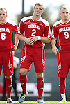 27 November 2011: Indiana's Eriq Zavaleta (2). The University of North Carolina Tar Heels defeated the Indiana University Hoosiers 1-0 in overtime at Fetzer Field in Chapel Hill, North Carolina in an NCAA Men's Soccer Tournament third round game.