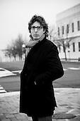 Maarten KolSloot is a Dutch writer and journalist. Photographed in Valparaiso, Indiana