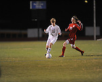 Oxford High's Gavin Douglas (16) vs. Neshoba Central in MHSAA playoff soccer action in Oxford, Miss. on Tuesday, January 22, 2013. Oxford won 3-1.