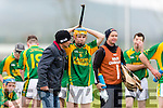 Paudie O'Connor Kilmoyley cant hide his disappointment after their defeat to Lismore in the Munster Intermediate final in Mallow on Saturday