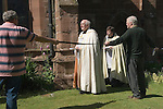 Church Clipping Ceremony St Peter.<br />