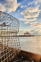 Crab Trap on the Manteo waterfront on Roanoke Island.