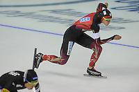 SPEEDSKATING: CALGARY: 13-11-2015, Olympic Oval, ISU World Cup, 500m, Gabriele Hirschbichler (GER), ©foto Martin de Jong