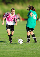 Soccer players compete in Badger State Summer Games on Saturday at Reddan Soccer Park in Verona