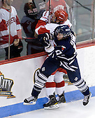 Garrett Noonan (BU - 13), Byron Elliott (Toronto - 17) - The Boston University Terriers defeated the visiting University of Toronto Varsity Blues 9-3 on Saturday, October 2, 2010, at Agganis Arena in Boston, MA.