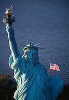 Statue of Liberty National Monument, Aerial, New York City, New  York, New Jersey