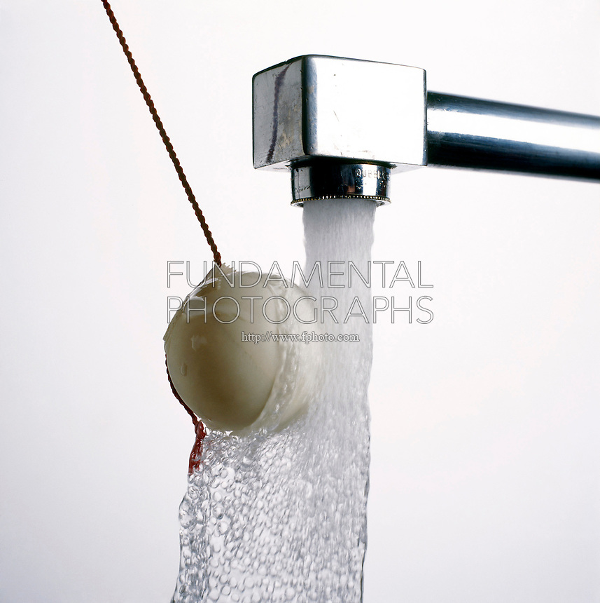 BERNOULLI'S PRINCIPLE: BALL IN STREAM OF WATER (2 of 2)<br />