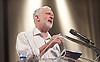 Jeremy Corbyn <br /> Rally in Kilburn, London, Great Britain <br /> 21st August 2016 <br /> <br /> billed as his largest indoor rally during the current Labour Leadership campaign to date. <br /> <br /> Jeremy Corbyn MP<br /> Islington North and leader of the Labour party <br /> <br /> Photograph by Elliott Franks <br /> Image licensed to Elliott Franks Photography Services