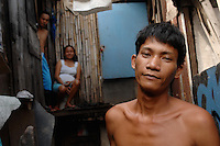 Ricky Soho who is waiting to donate his kidney  and recieve a fee of about 90,000 pesos. Men from the Basico port area slum of Manilasell their kidney's for between 70,000 -  90,000 pesos (800 - 1030 pounds).  More than 300 have sold their kidneys in this slum of 16,000 people.<br /> <br /> PHOTO BY RICHARD JONES