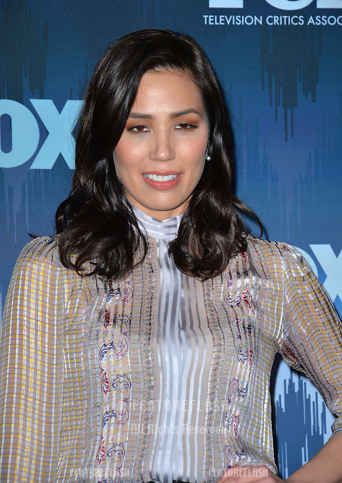 Michaela Conlin at the Fox Winter TCA 2017 All-Star Party at the Langham Huntington Hotel, Pasadena, USA 11th January  2017<br /> Picture: Paul Smith/Featureflash/SilverHub 0208 004 5359 sales@silverhubmedia.com