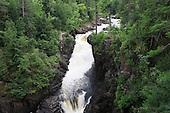 Dorwin falls in summer